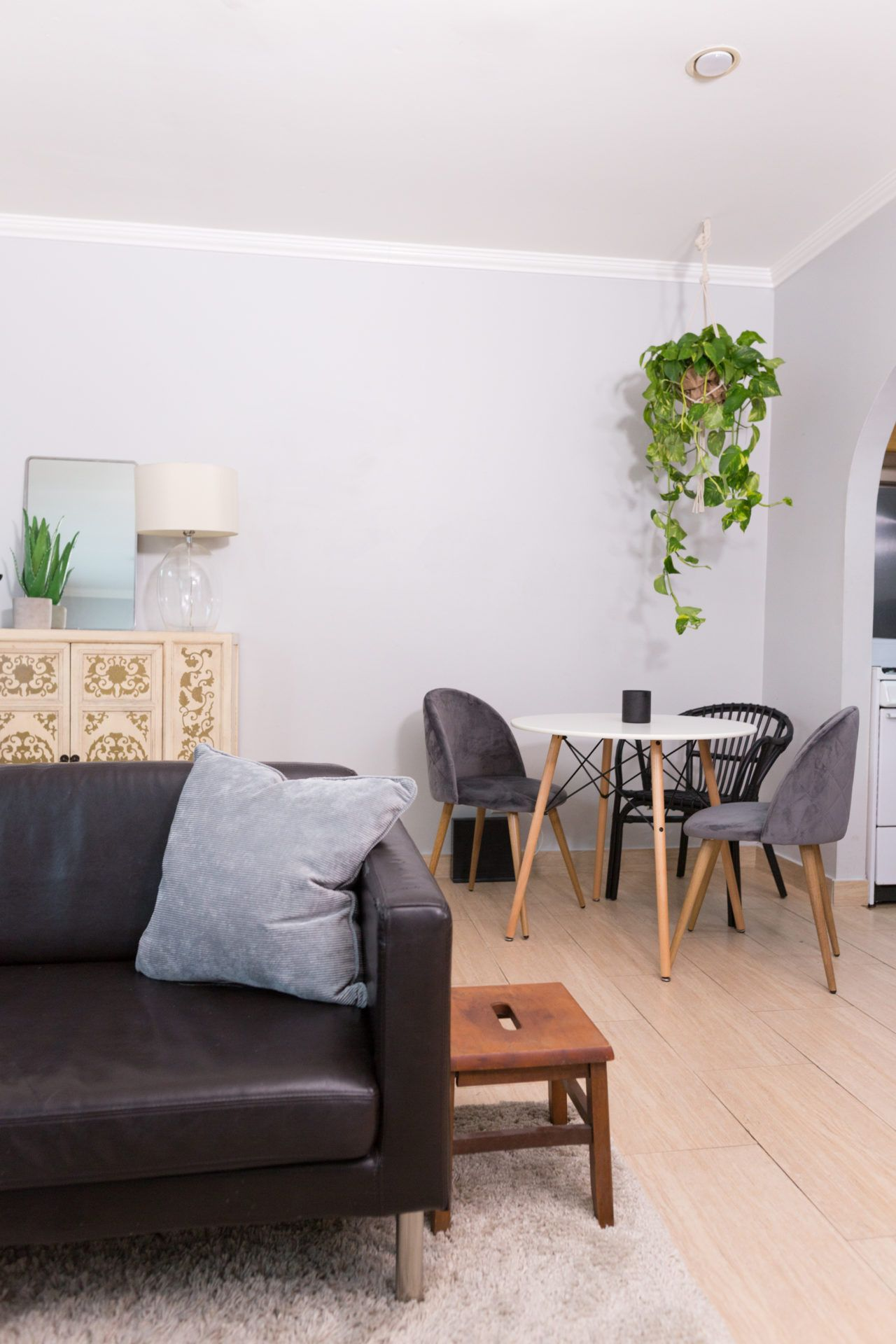 Make Living Room Spacious Using Simple And Smart Tricks Best Interior Design Services If You Donu0027t Have A Dining Room Area, Use A Corner With A Small Bistro  Table To Create Your Own!