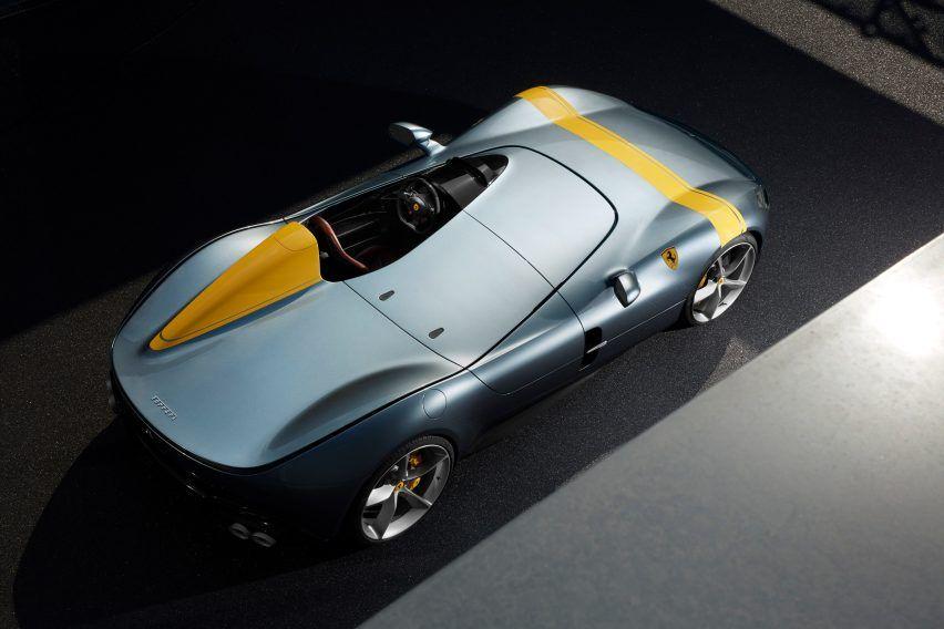Ferrari S Latest Sports Car Has No Windshield Or Roof Ferrari New Car Sports Car New Sports Cars