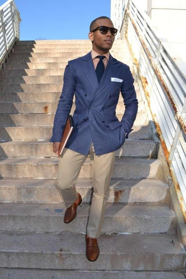 abbinamento giacca con pantalone blu uoml