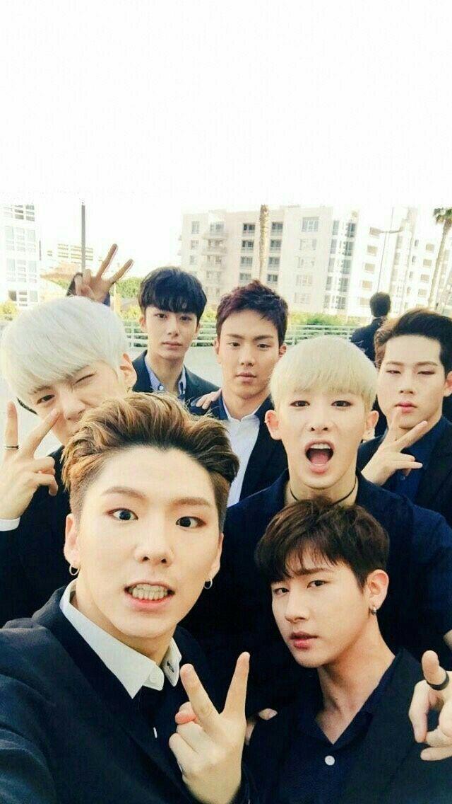 Monsta X &Got7 Reactions Monsta x wonho, Monsta x, Bilder