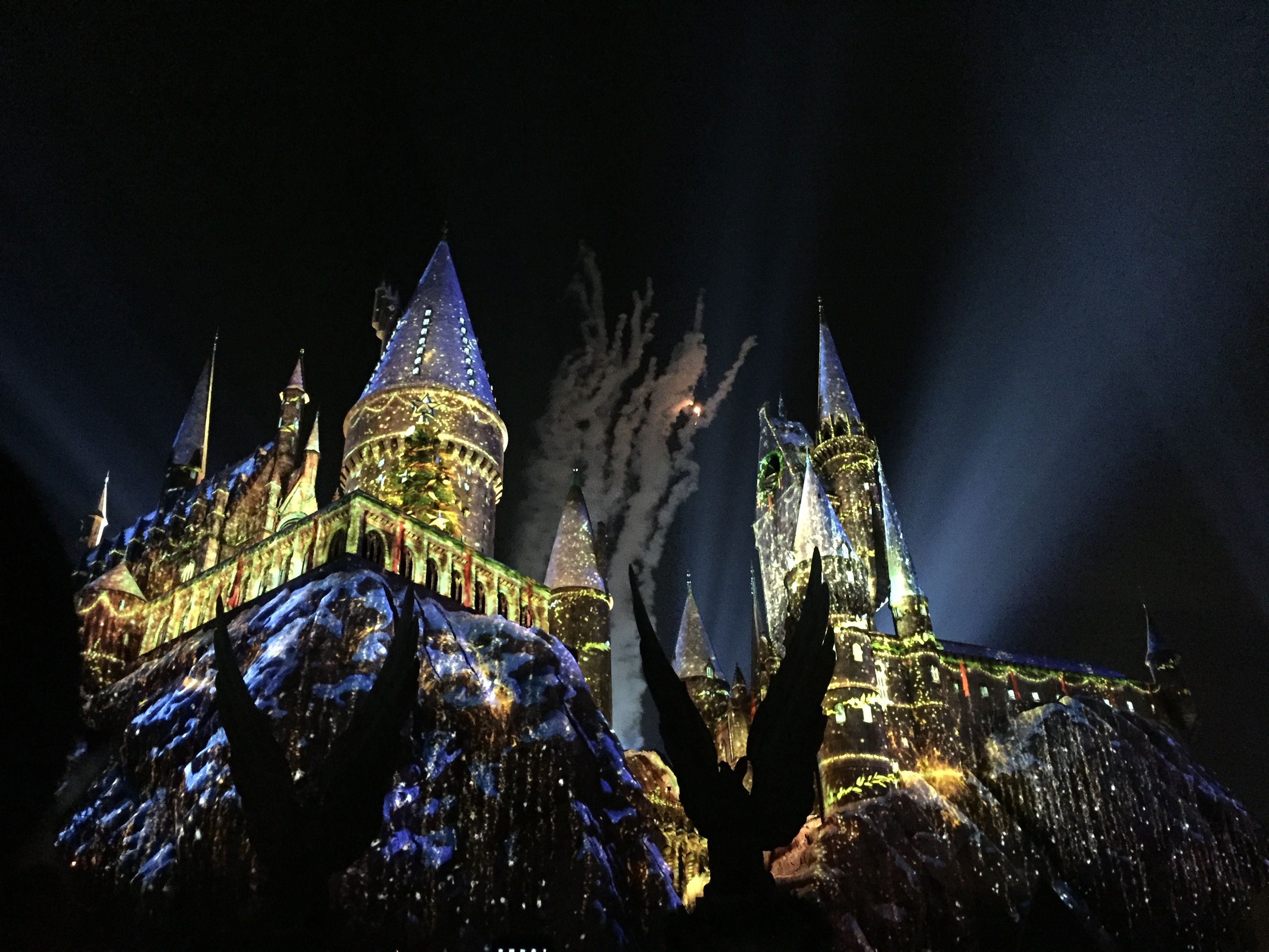 Harry Potter Town In Universal Studios Hollywood Los Angeles Ca From Youishare Universal Studios Hollywood Universal Studios Rides Universal Studios