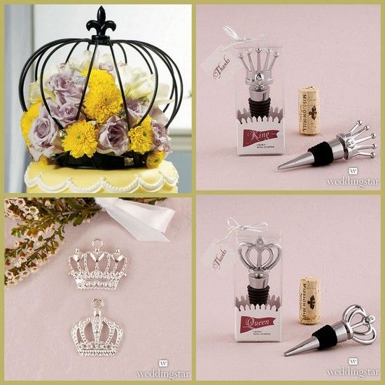 Crown Wedding Favors and Accessories from HotRef.com