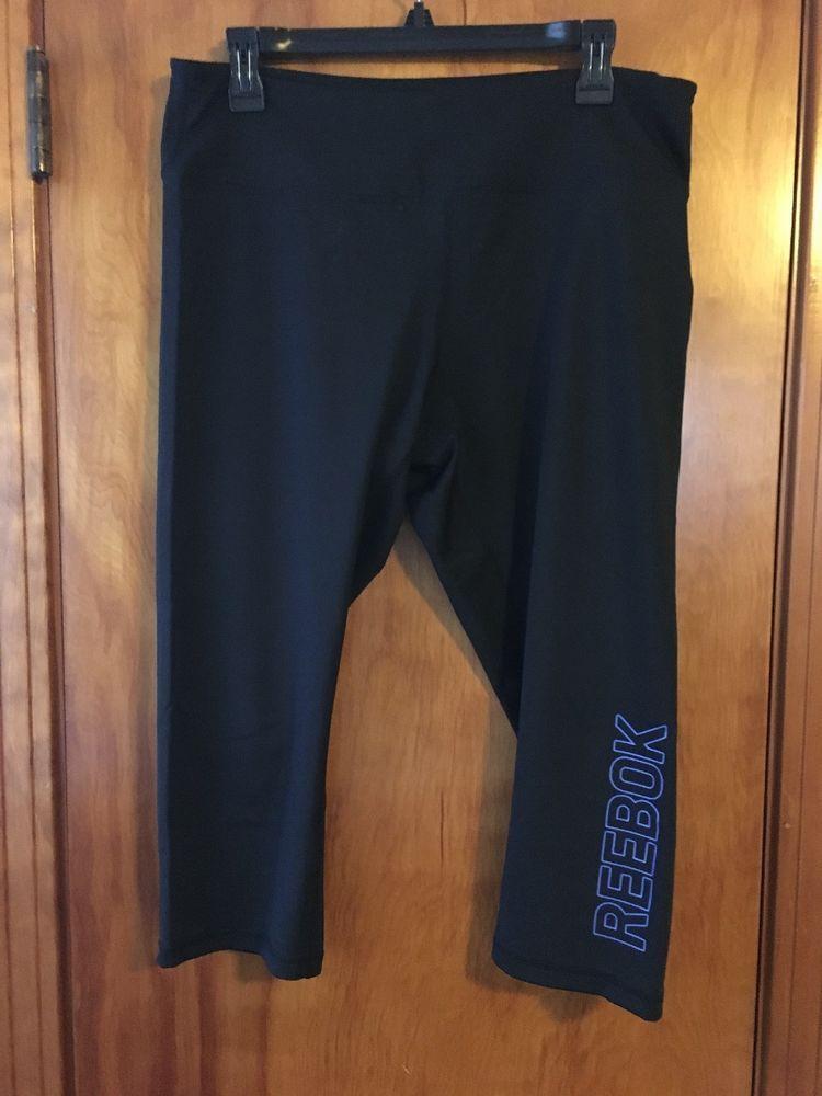 Reebok Girls Sport Active Capri Legging
