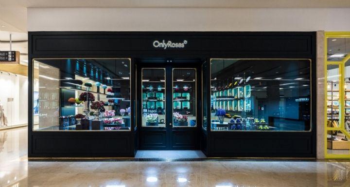 Only Roses Store By Baciocchi Associati Abu Dhabi Uae Roses
