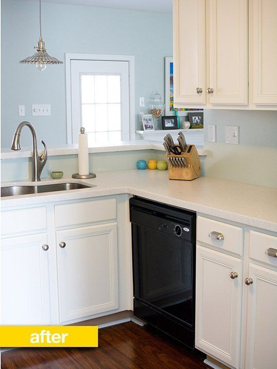 Kitchen Before & After A Diy Renovation With A Few Clever Budget Awesome How To Design A Kitchen Renovation Design Decoration