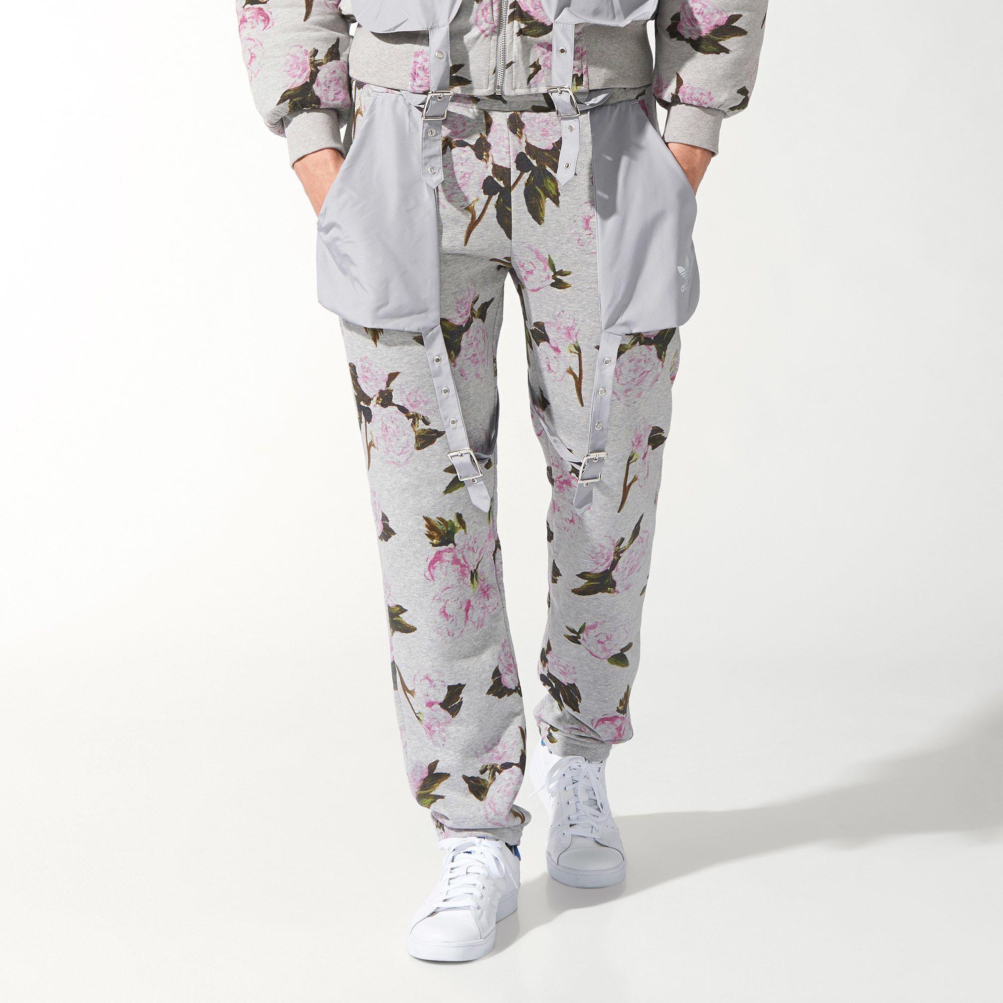 Running Pants Floral Horizontal Adidas Pinterest Track qIwzgzER