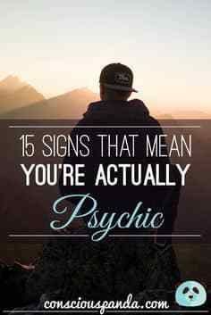 15 signs that mean you're actually psychic  #lifehacks  #fitness