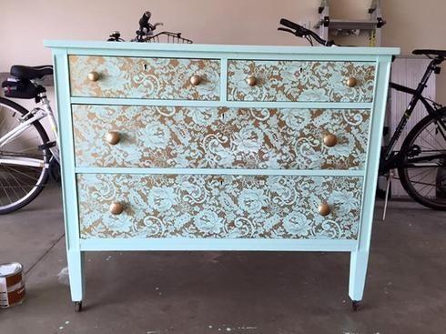 10 faons de transformer un meuble sans le repeindre - Peindre Un Vieux Meuble Sans Le Decaper