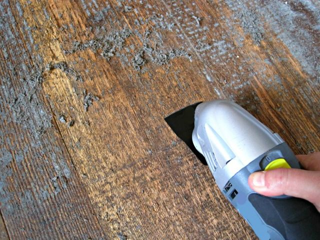 Removing Adhesive From Hardwood Floors Is Rarely Considered
