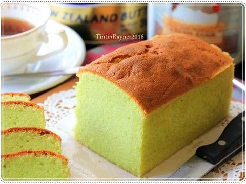 Resep Condensed Milk Pandan Pound Cake 5 Bahan Yummy Oleh Tintin Rayner Resep Resep Resep Kue Keju Makanan Manis
