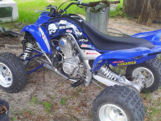 2006 yamaha raptor 700r 4 wheeler blue black for sale in for Four wheelers yamaha for sale