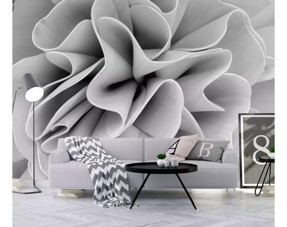Abstract Floral Wallpaper Mural 3d Wallpaper Living Room Li