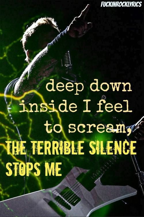 metallica lyrics | Metallica | Pinterest | Posts ...