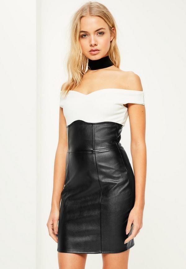 9f8b691df Black Faux Leather Super High Waisted Mini Skirt | latex in 2019 ...