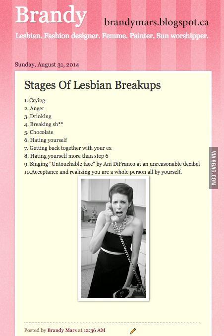 Lesbian breakups