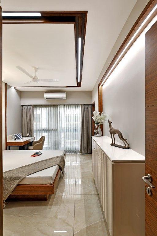 Elegant Apartment Interiors in 2020   Ceiling design ...