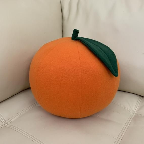 THIS ITEM IS FOR A SINGLE PILLOW. IT IS ALSO AVAILABLE IN A SET OF PILLOWS IN DIFFERENT COLORS ( listed separately ).These unique Citrus Fruit Pillows will brighten up any room! They are a lovely decor for a living room, play room, nursery, beach houses, etc. Pick your favorite fruit or go for a set!Set of 2 pillowswww.etsy.com/listing/238557292It is handmade from soft fleece and filled with non-allergenic fiberfill. Size -Lemon and Lime - 10