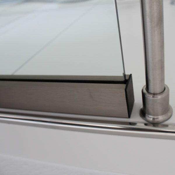 Wandklemmprofil hält das Glas (mit Bildern) Glasduschen