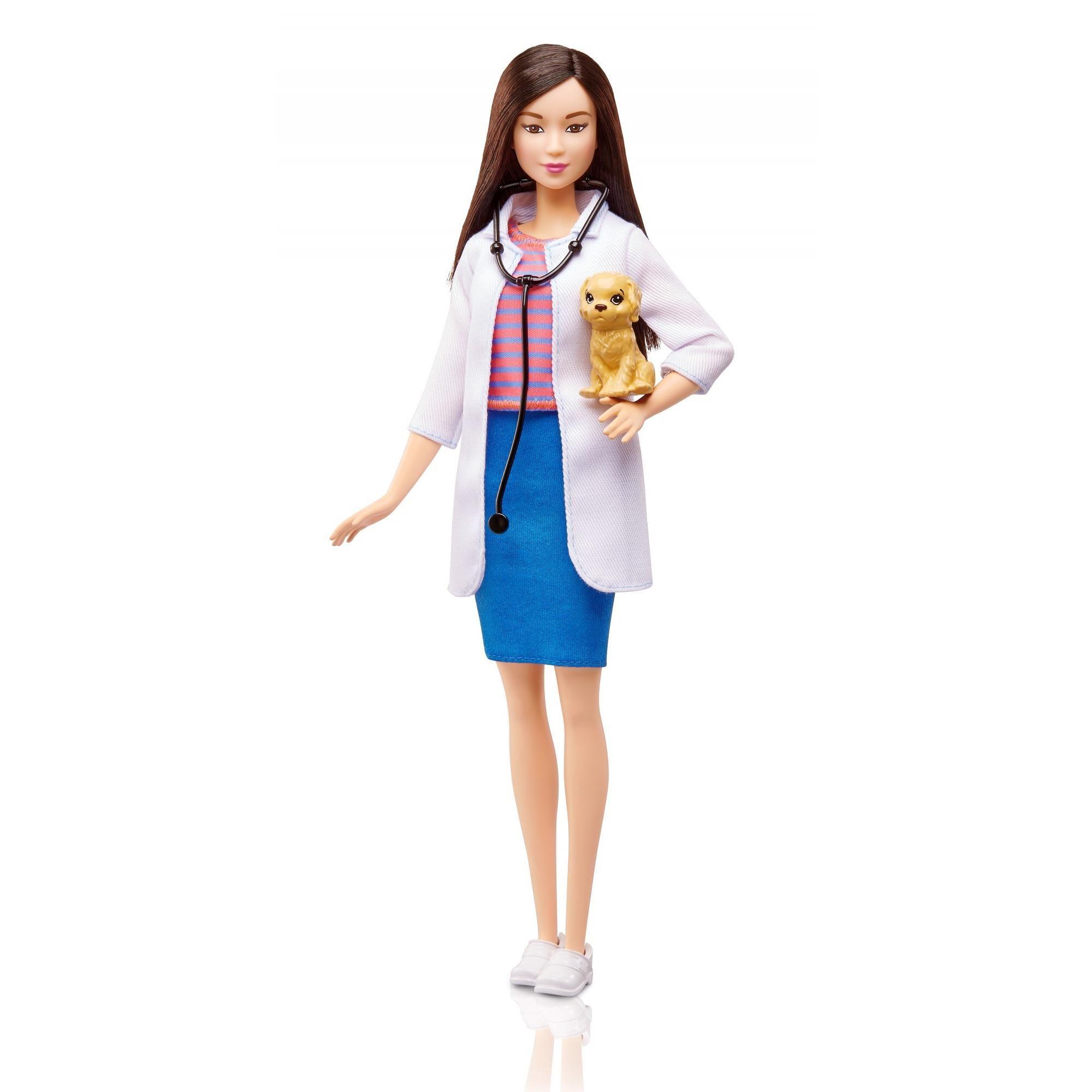 Barbie Careers Pet Vet Doctor Doll in 2019