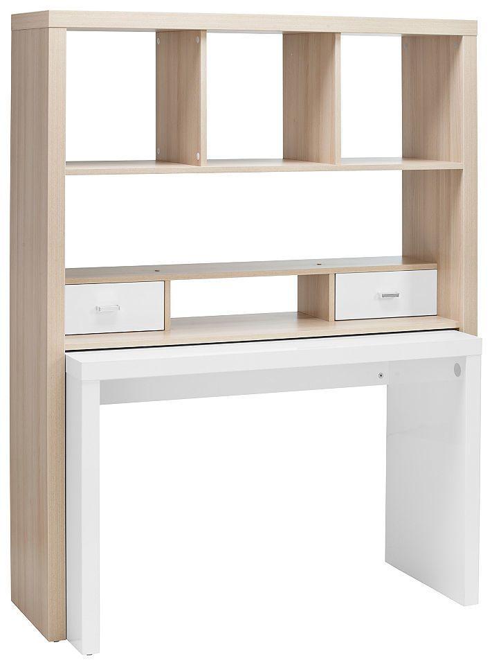 Bürowand, HMW, »Danzig«, mit ausziehbarem Schreibtisch Jetzt ...