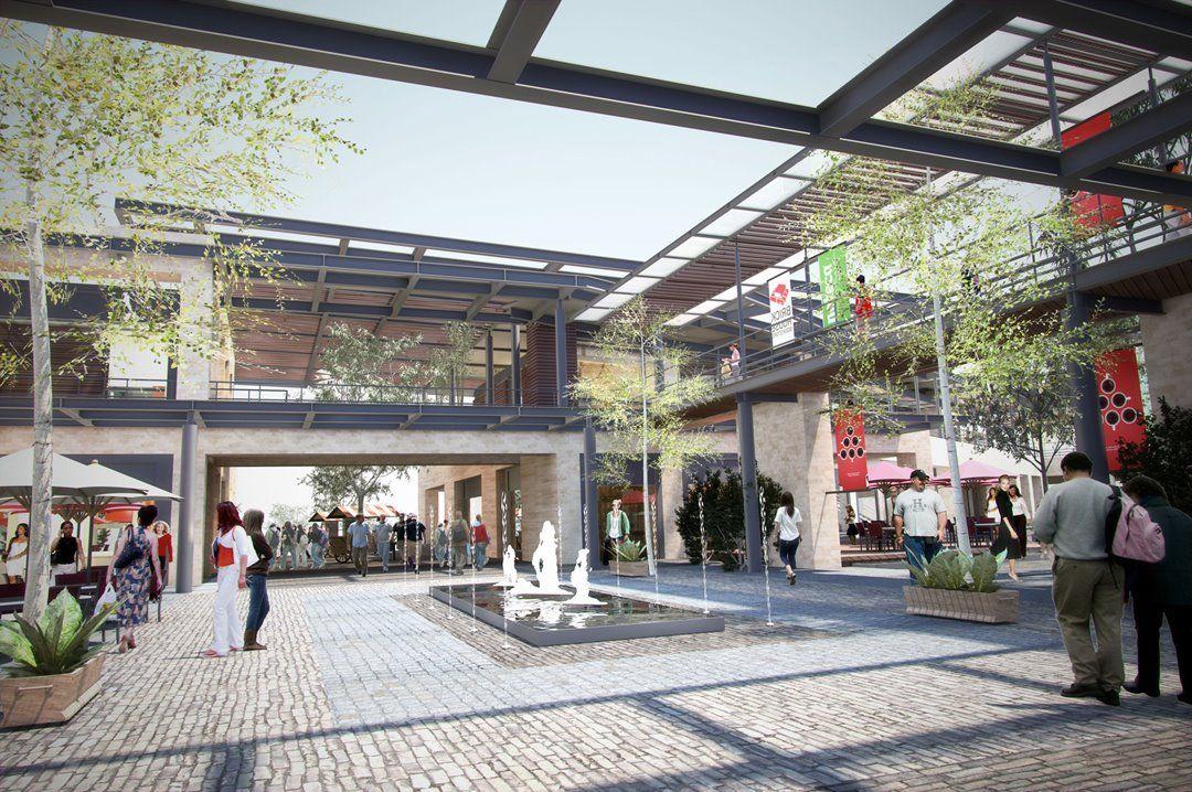 construccion centro comercial majadas once guatemala