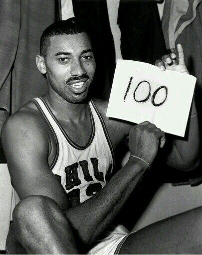 Wilt Chamberlain! Philadelphia Warriors!