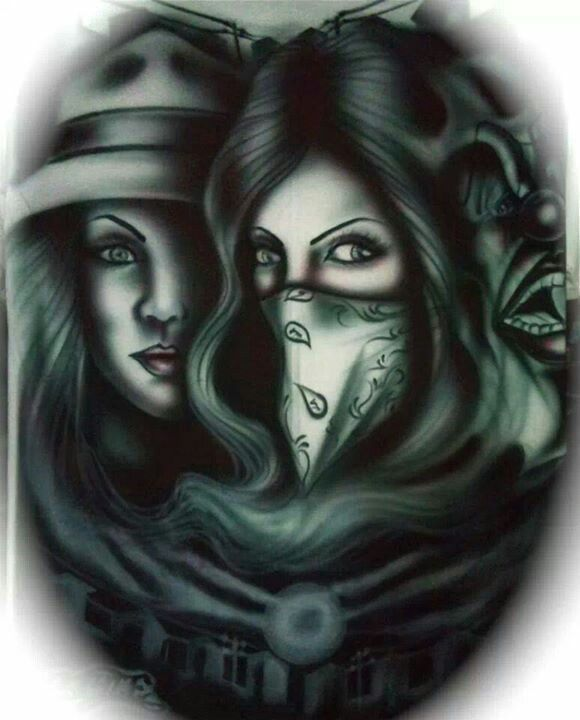 1000 images about sad eyes on pinterest chicano angeles for Chicano clown girl tattoos