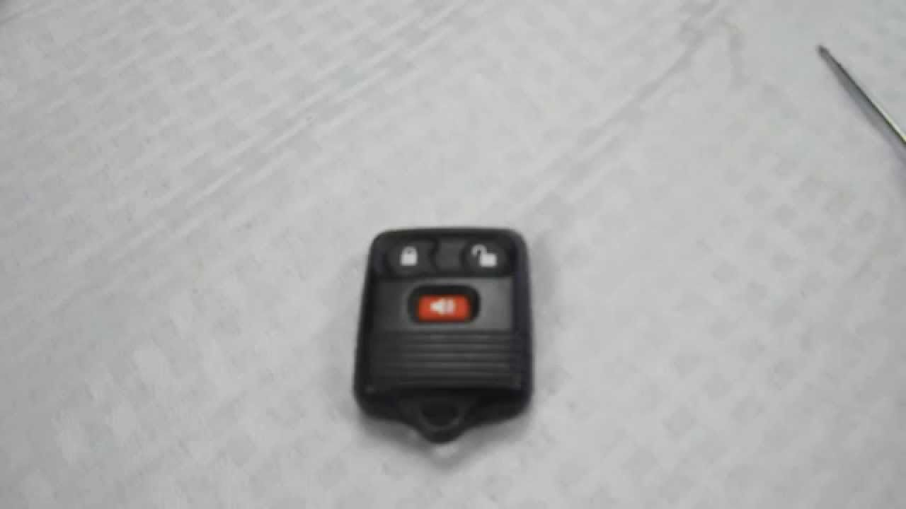 How to replace ford f150 f150 key fob battery 1998 2011