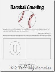 baseball count and color books children s literature pinterest