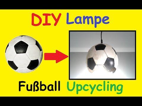 Diy Fussball Lampe Selber Machen Kinderzimmer Em 2016