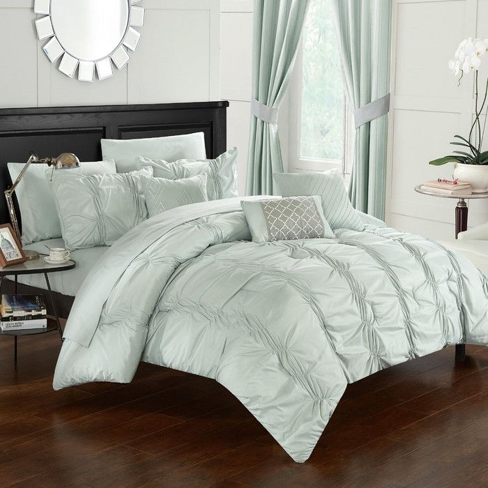 As a child, you gazed up at the summer sky and imagined snuggling into the soft swells of passing clouds. At last, you can do just that. Let yourself fall into my Odele Cotton Bedding Collection and luxuriate for hours. Wisps of delicate voile and intricate ruching will send your dreams billowing into the sweet romance of yesteryear.