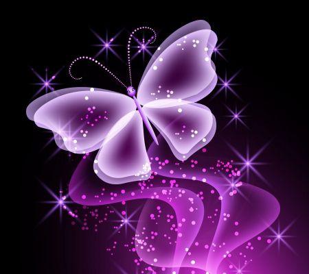Neon Butterfly - Desktop Nexus Wallpapers