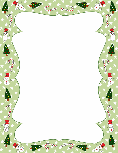 Christmas Page Border.Pin By Muse Printables On Page Borders And Border Clip Art