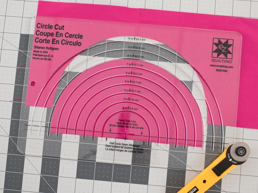 Ez International Easy Circle Cut Ruler | Quilting tools, Sewing ... : circle ruler for quilting - Adamdwight.com