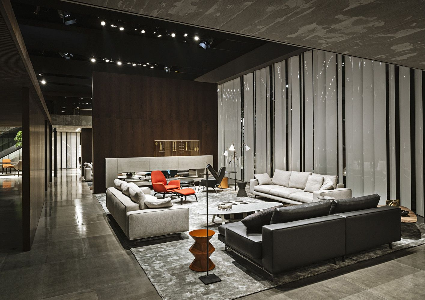 Minotti Mobili ~ The minotti stand at salone in milan. this just isnt a stand