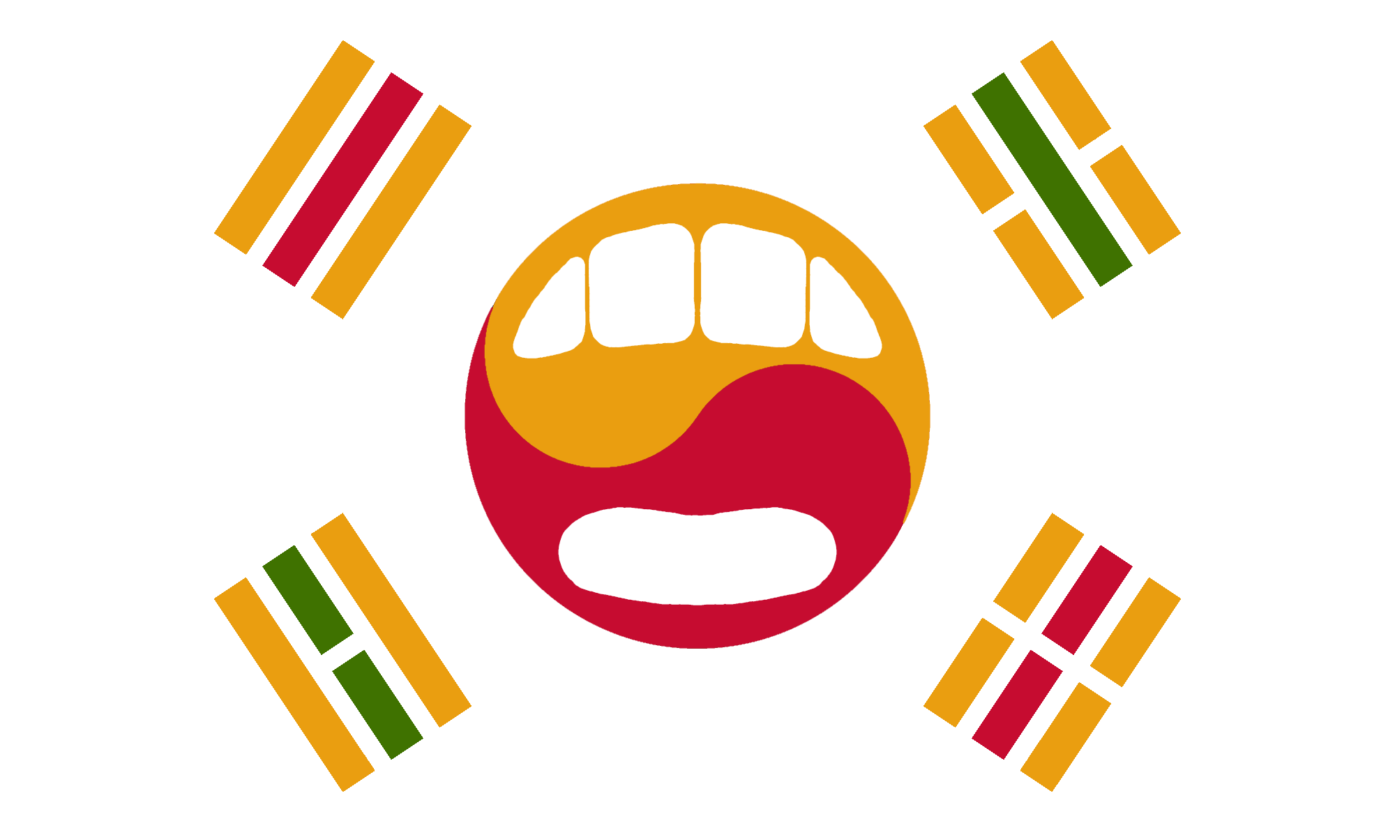 The mouth korean flag features recolorings of the symbols meaning the mouth korean flag features recolorings of the symbols meaning heaven water earth biocorpaavc Gallery