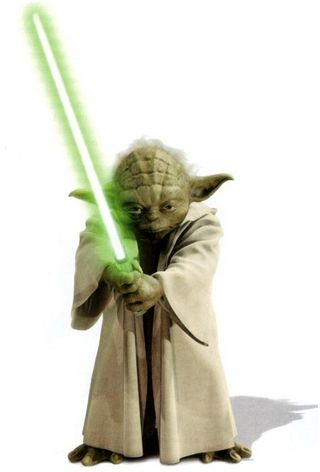 Yoda With Lightsaber Google Search Star Wars Yoda Star Wars Yoda Wallpaper