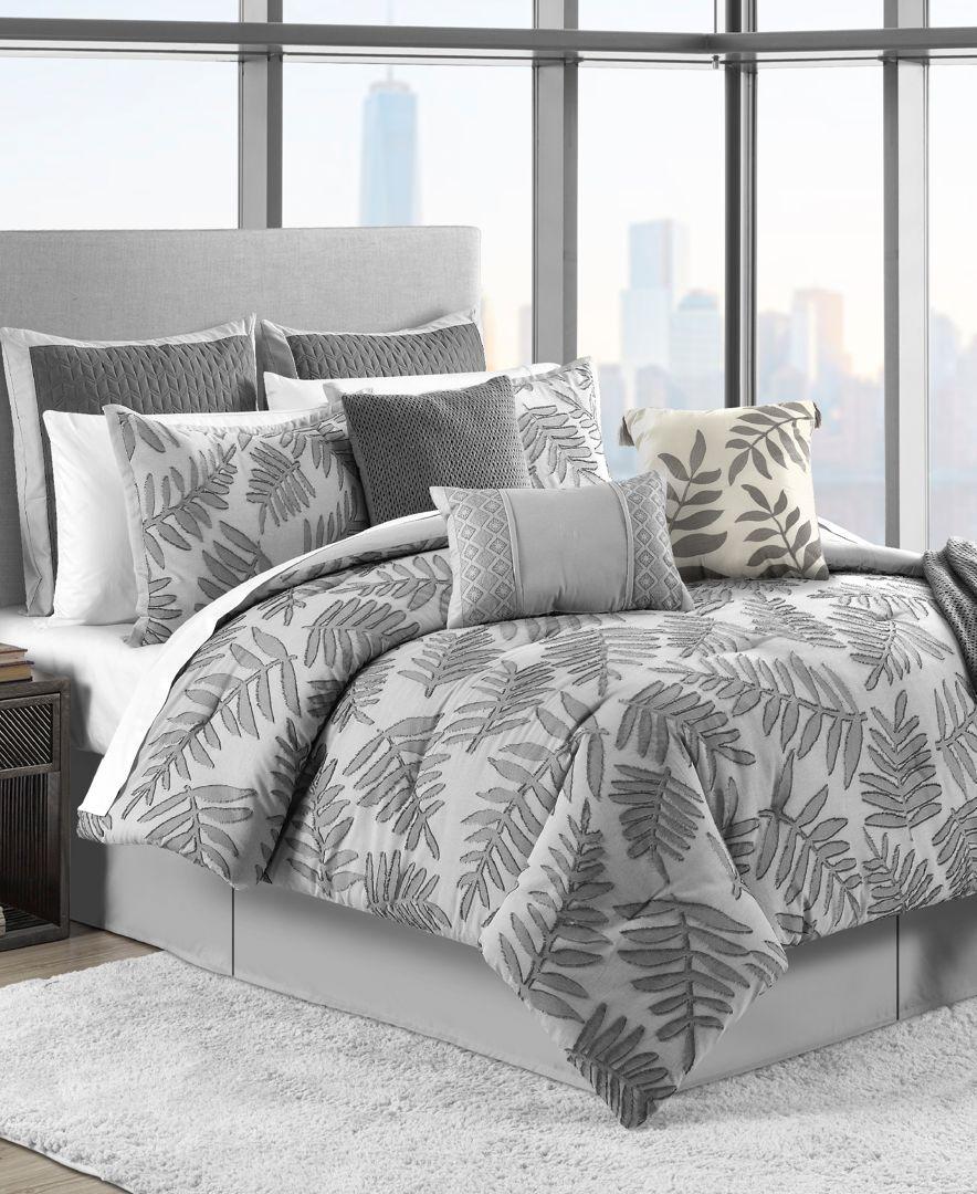 Largo 10 Pc Queen Comforter Set Largo 10 Pc