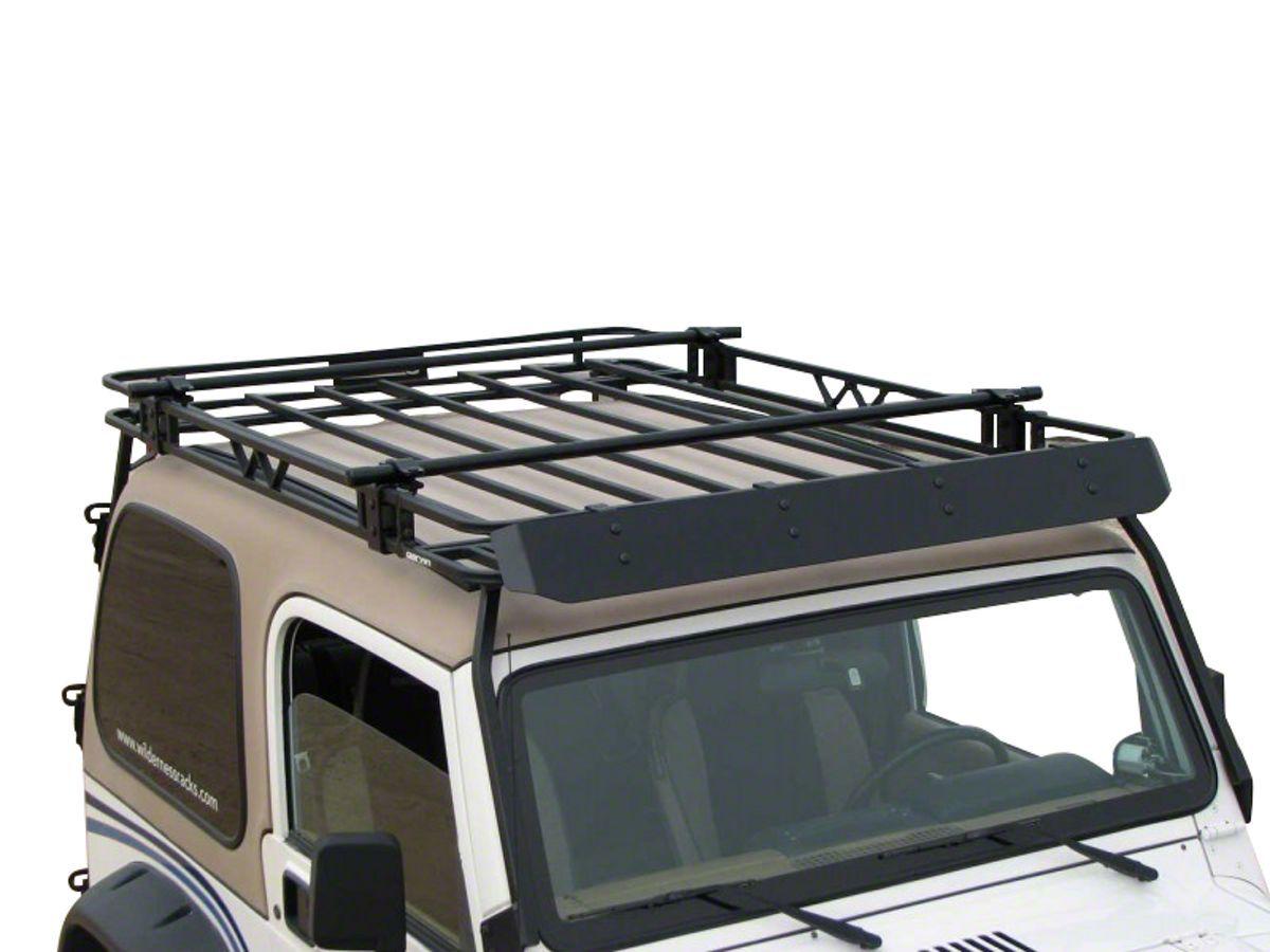 Garvin Jeep Wrangler Expedition Rack Crossbar Kit For 4 In High Roof Rack 29210 87 20 Jeep Wrangler Yj Tj Jk Jl Roof Rack Jeep Wrangler Roof