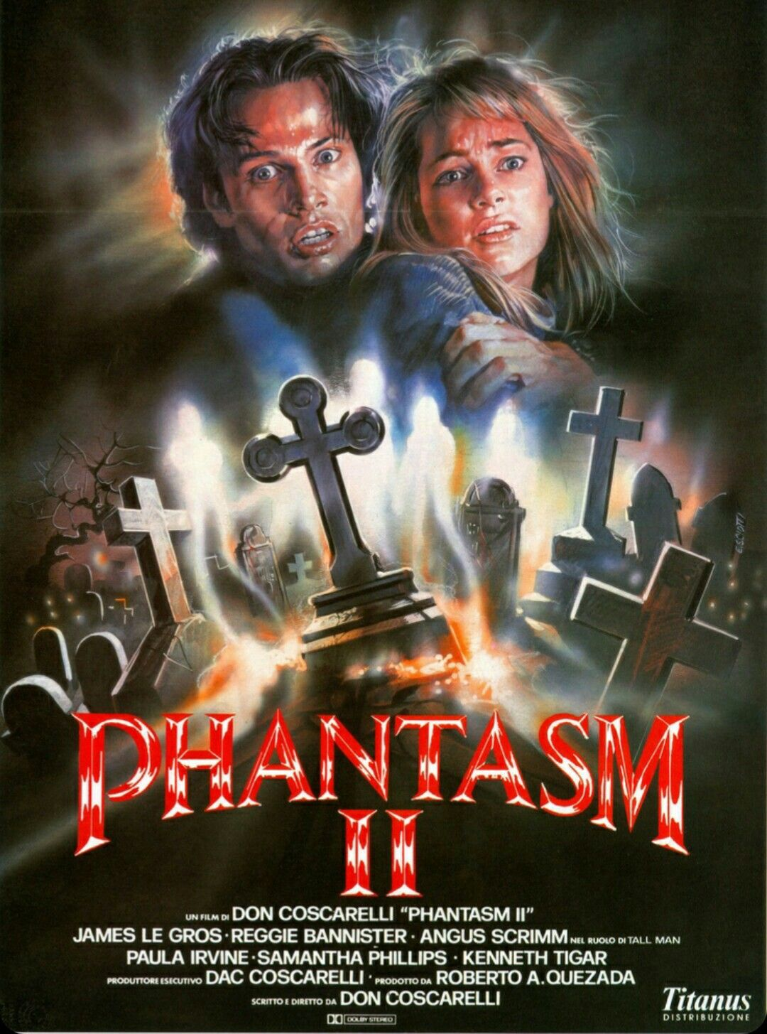 Phantasm 2 II 11X17 Poster The Tall Man Original Version