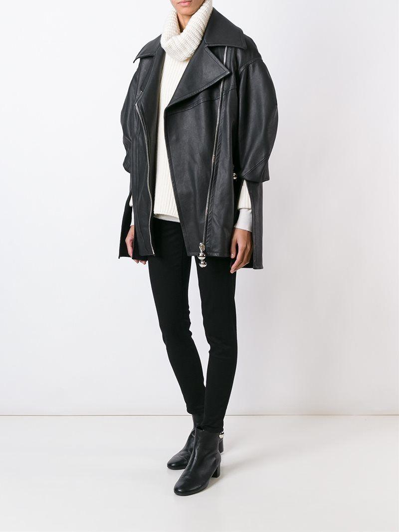chaquetas piel oversize