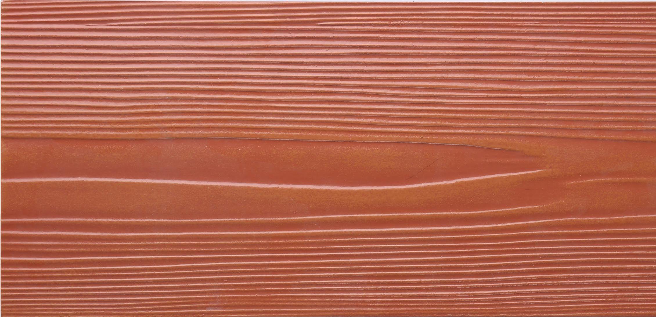 Wood Texture Fiber Cement Siding Sheet Wood Grain