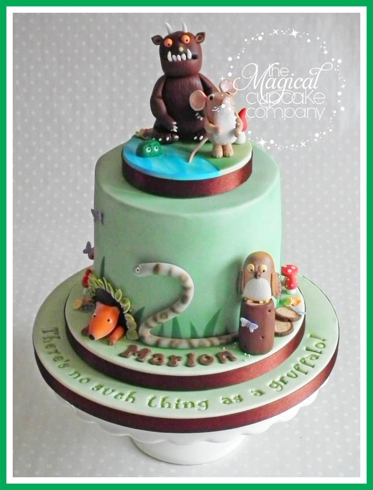 A Birthday Cake Based On The Childrens Book The Gruffalo Cake