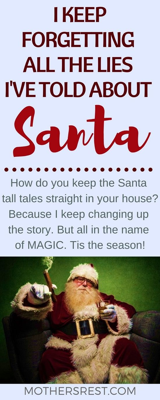 How do you keep the Santa tall tales straight in your house? Because I keep changing up the story. But all in the name of MAGIC. Tis the season! #Santa #Christmasmagic #Christmasseason #parentingtips #KrisKringle #SaintNick #SantaClaus #Christmasjoy
