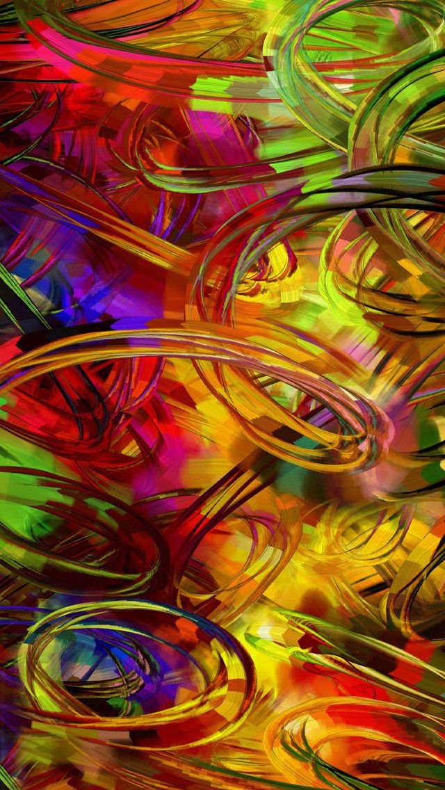 Paint iPhone Wallpaper Cool background designs, Colorful