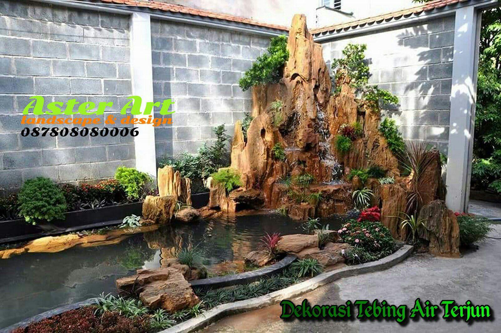 Jasa Tukang Taman Jakarta Jasa Pembuatan Taman Jabodetabek Aster Art Landscape Design Jasa Pembuatan Taman Hias Vertical Di 2020 Taman Taman Vertikal Air Terjun