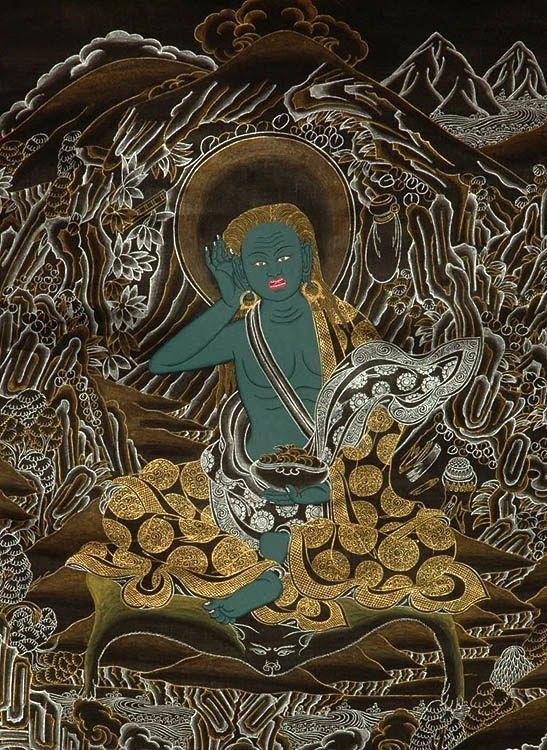 Milarepa (11th C.), One Of Tibet's Most Famous Yogis And