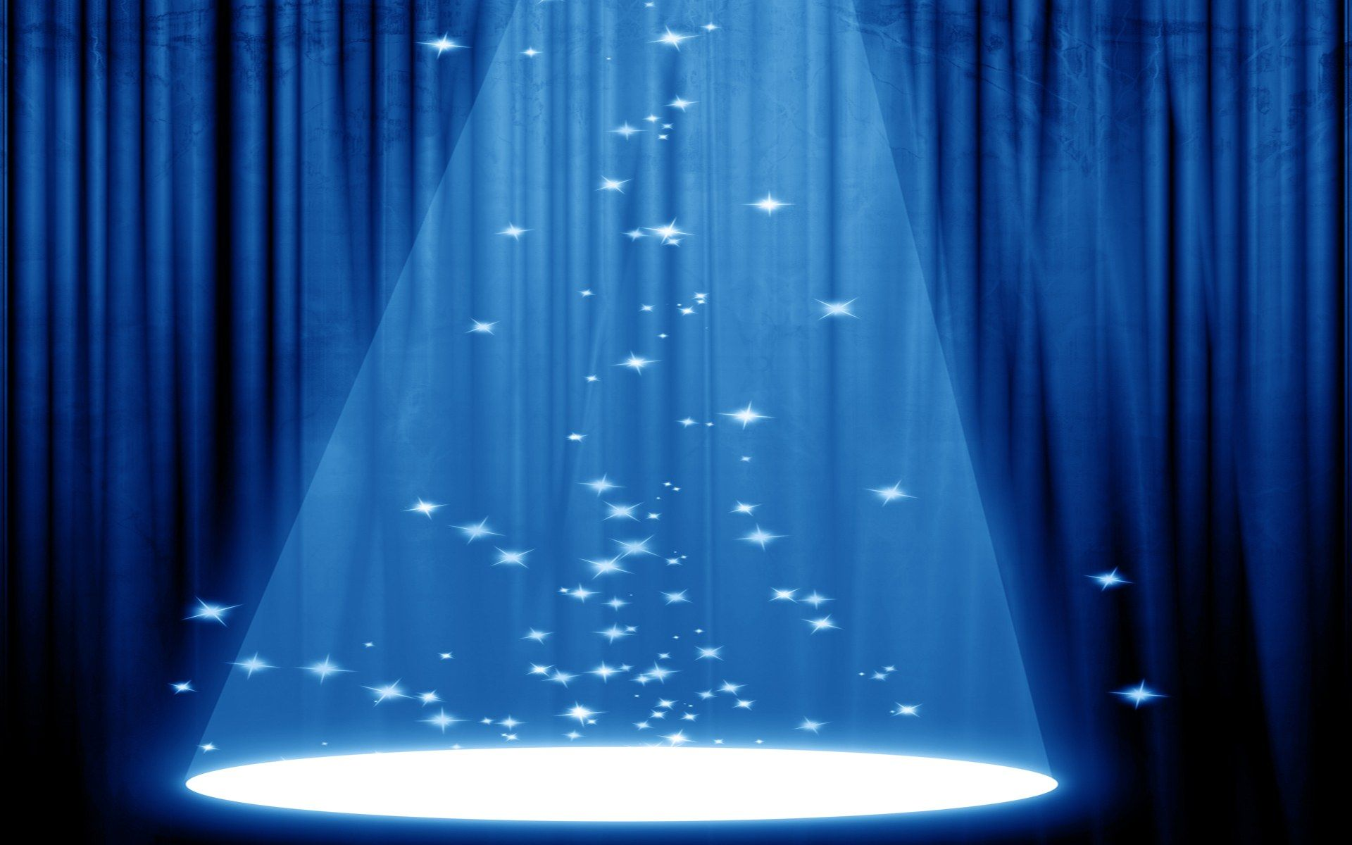Blue curtain backdrop - Stage Curtains Background Background Blue