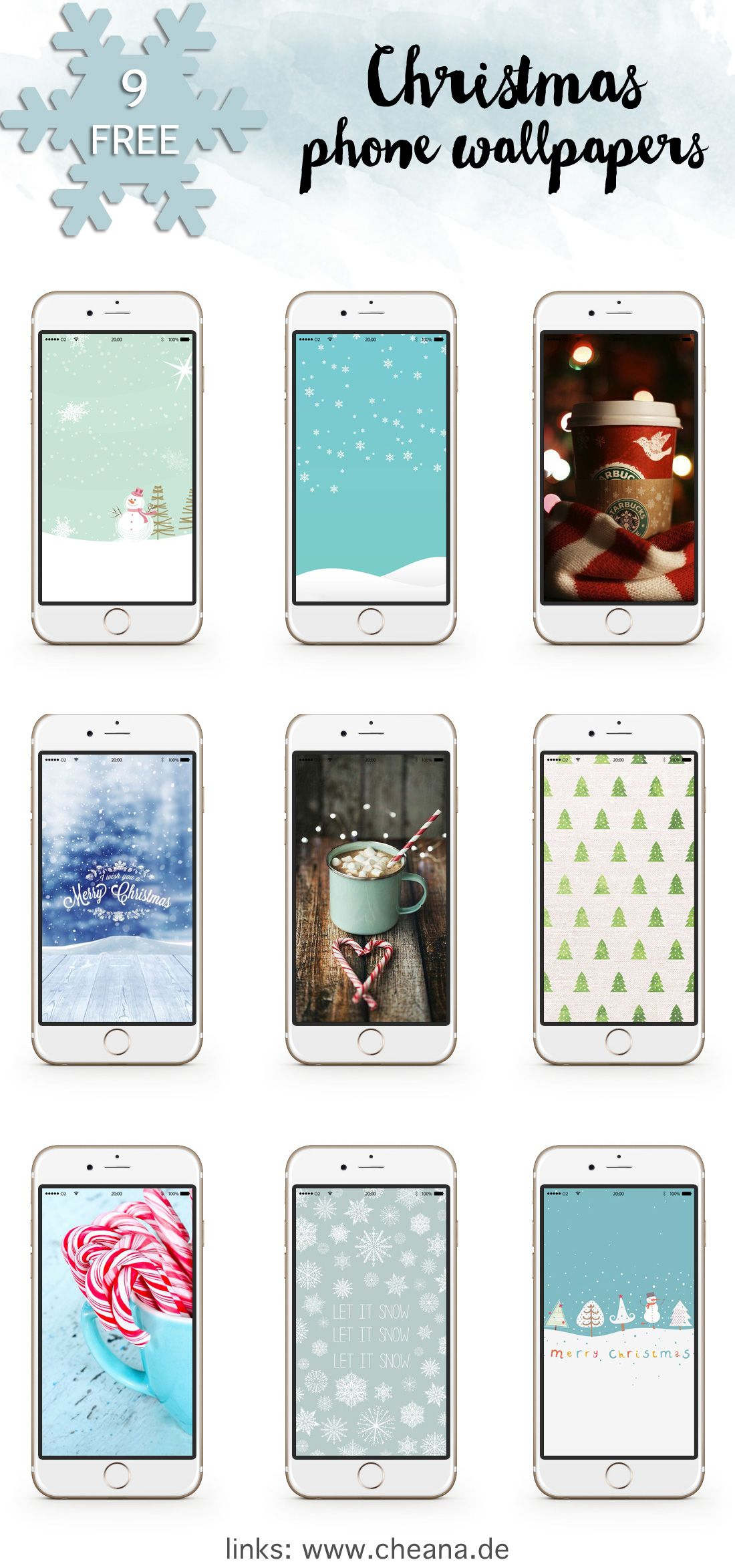 9 Kostenlose Winter Wallpapers Fürs Smartphone Christmas