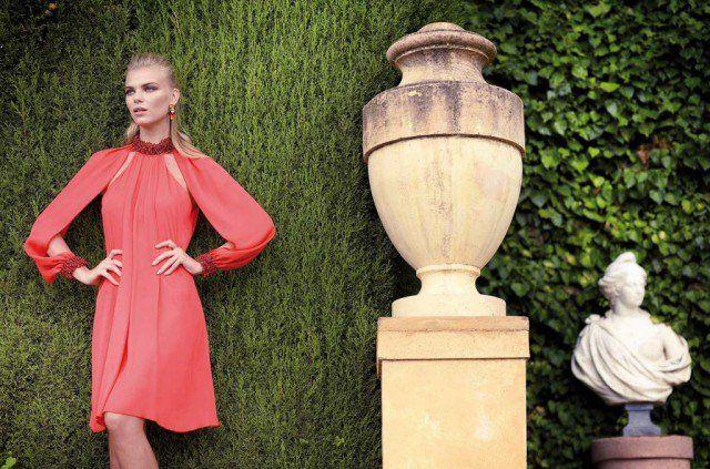 Beautiful Red Midi Dress